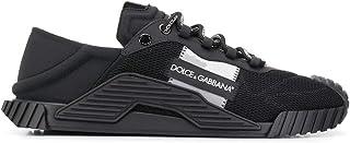 DOLCE E GABBANA Luxury Fashion Mens CS1769AJ9688B956 Black Sneakers   Spring Summer 20
