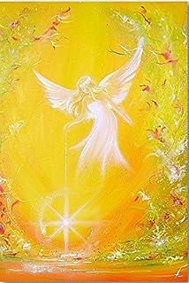 """Angel Photo d'art Directement à partir de L'Artiste: """"Je te donne de la lumière"""" Brillant, Idéal pour Cadre + comme Cadea..."""