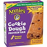Annie's Protein Bars, Peanut Butter Cookie Dough, 5.85 oz, 5 ct (Pack of 8)