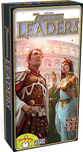 7 Wonders Leaders - Uitbreiding voor bordspel 7 wonders - Met nieuwe soort kaart: de Leiders - Voor de hele familie - NL/DE/EN - Taal: Nederlands