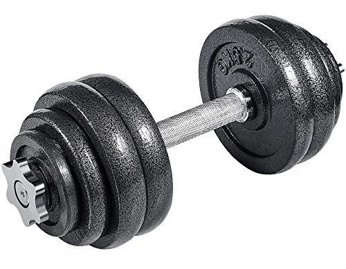 arteesol Hantel, Gusseisen Kurzhanteln Hanteln Hantel Set 10kg 15kg 20kg 30kg für Professionelle Fitness-Leute (15kg-Single Hanteln)