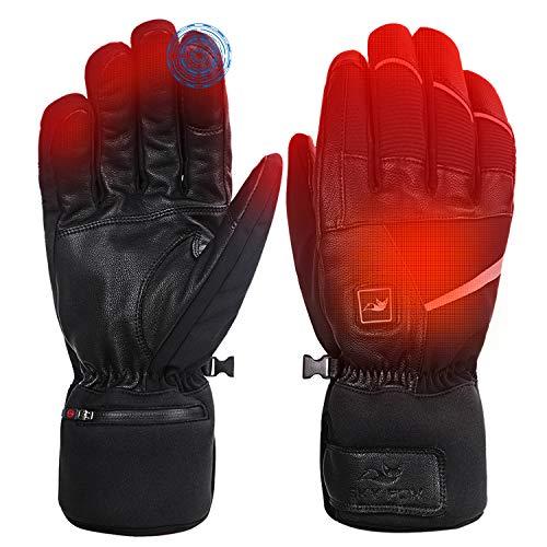 SAVIOR HEAT Heated Gloves for Men Women, Electric Heated Gloves,Heated Ski Gloves