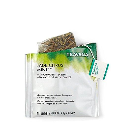 Teavana Jade Citrus Mint Full Leaf Sachets pack of 12