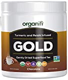 Organifi - Gold Chocolate - Superfood Supplement Powder - Sun-Ripened Cocoa -...