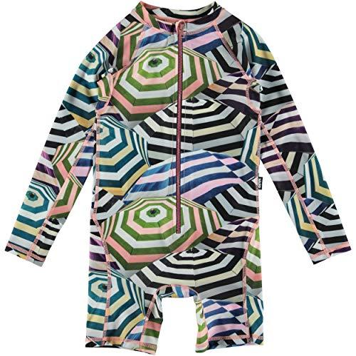 MOLO - Bañador Unisex para bebé Neka UV, Unisex bebé, Color Parasol, tamaño 9-12 m