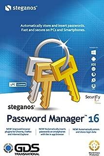steganos password manager 16