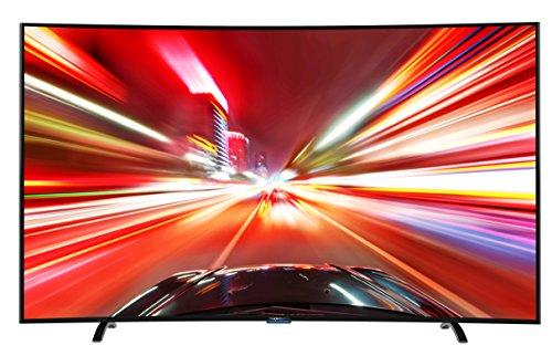 Thomson 78UA8796 198 cm (78 Zoll) Curved Fernseher (Ultra HD, Triple Tuner DVB-T2 HEVC H.265, 3D, Smart TV)