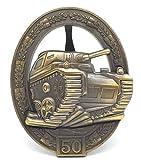 Panzerkampfabzeichen Orden 2.Weltkrieg Einsatzzahl 50 - 57er Version Repro -