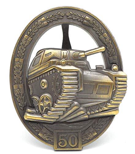 Panzerkampfabzeichen Orden 2.Weltkrieg Einsatzzahl 50 - 57er Version Repro
