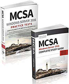 MCSA Windows Server 2016 Complete Certification Kit: Exam 70-740, Exam 70-741, Exam 70-742, and Exam 70-743