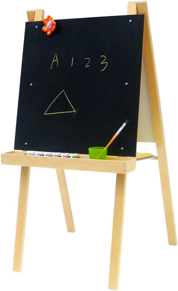 A+ ChildSupply Economy Art Easel and with Board National products Free shipping Black White