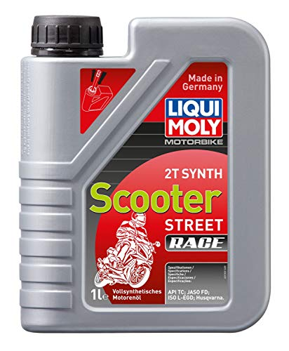 LIQUI MOLY 1053 Racing Scooter 2T Synth, 1 L