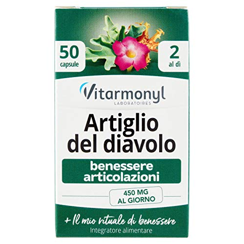 Vitarmonyl Artiglio del Diavolo Benessere Articolazioni, 50 Capsule
