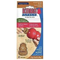 Kong Stuff'n PEANUT BUTTER Snacks for Dogs Large 11 oz (XR1)