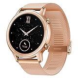 HONOR Magic Watch 2 42mm Montre Connectée pour Hommes Femmes (GPS, Écran AMOLED 1,39 Pouces, 14-Jours en Veille, 15 Modes Sportifs, étanche Smartwatch), Sakura Gold