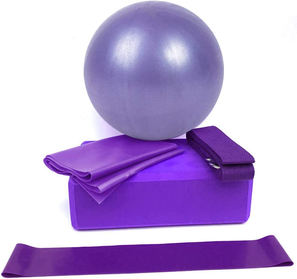 SUSHUN 5 Pcs Yoga Equipment New products Great interest world's highest quality popular Stretching with Blocks Ball Set