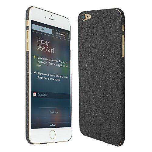 Skinomi Brushed Steel Full Body Skin Compatible with Apple iPhone 6 Plus...