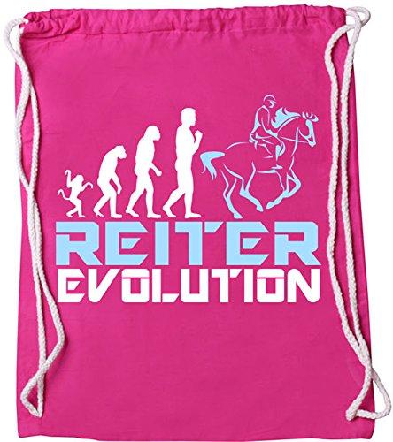EZYshirt® Reiter Evolution Baumwoll Stoffbeutel