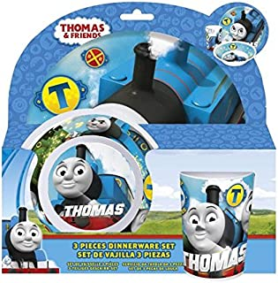 thomas the tank engine melamine set