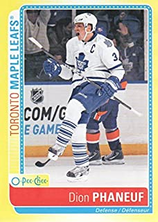 2013-14 O-Pee-Chee Hockey Stickers #S-DP Dion Phaneuf Toronto Maple Leafs
