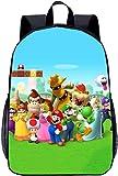 Mario Kart Rucksack?Super Mario Schultasche?Schulgeschenk?Idealer Rucksack für Kinder?Mode cool?Toller Rucksack (Mario-5,13 Zoll (Kindergarten))