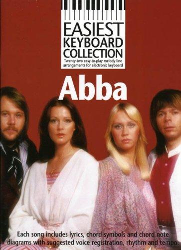 Easiest Keyboard Collection: Abba: Songbook für Keyboard