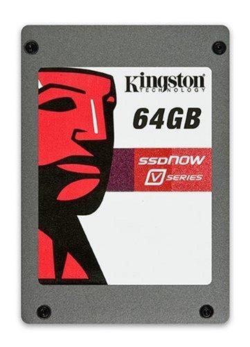 Kingston V-Series MLC interne SSD-Festplatte (6,4 cm (2,5 Zoll) 64GB, SATA II) Bundle-Kit