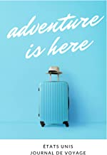 États Unis Journal de voyage: Le cadeau pour en États Unis voyage   Listes de contrôle   Journal de vacances, année à l'ét...