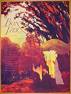 Best bon iver concert poster Reviews