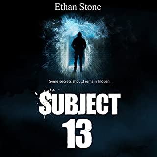 Subject 13 audiobook cover art