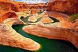 RHSD Puzzle 1000 Rompecabezas de Madera Colorado Grand Canyon Rompecabezas para Adultos Rompecabezas de descompresión Regalo de Madera Rompecabezas 75X50CM