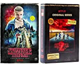 Stranger Things Netflix Exclusive Complete Season 1 and Season 2 Bundle, DVD / Blu-ray Discs in VHS Style Boxes