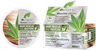 Dr Organic Hemp Oil Intensive Conditioner 200ml (Pack of 6) - Dr有機大麻油の集中コンディショナー200ミリリットル (x6) [並行輸入品]