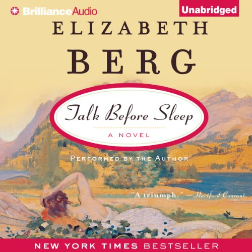 Talk Before Sleep audiobook cover art