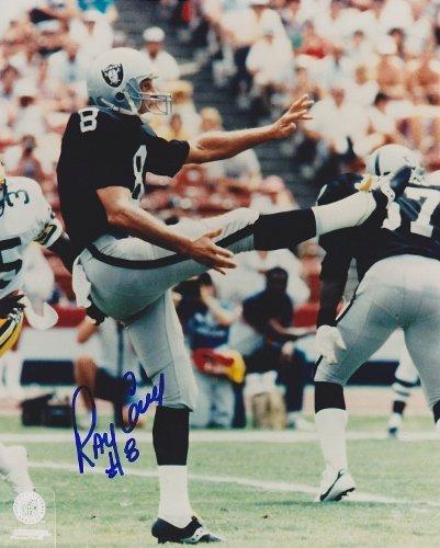 Ray Guy (Oakland Raiders) Signed Autographed 8x10 Photo (PSA/DNA COA)