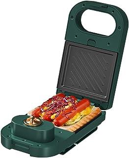 5 I 1 Sandwich Toastie Maker 30 Min Timer Maskin för Våffelmakare för Munkägg Elektrisk Panini-press (Size : Only Sandwich)