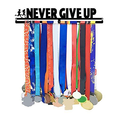 Xploit Medaillenhalter Sportmedaille Display Kleiderbügel Halter Display Rack Frame Wandmontage Medaille Kleiderbügel Edelstahl Medaille Kleiderbügel