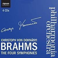 Brahms: The Four Symphonies by JOHANNES BRAHMS (2012-04-24)
