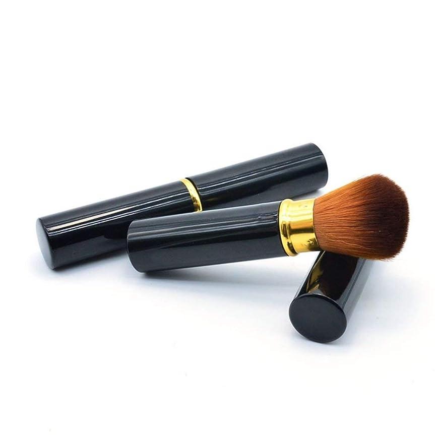 巨大ライフル熱メイクアップブラシファンデーションメイクアップリキッド、クリーム、または完璧なパウダー化粧品 - バフ、点描、コンシーラー - 上質な合成稠密剛毛