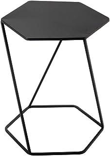 Tables HAIZHEN Pliable Canapé-lit d'appoint de de Conner de latérale de Fer de Nidification pour Le métal de Salon 45 * 40...