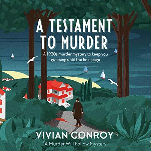 A Testament to Murder audiobook cover art