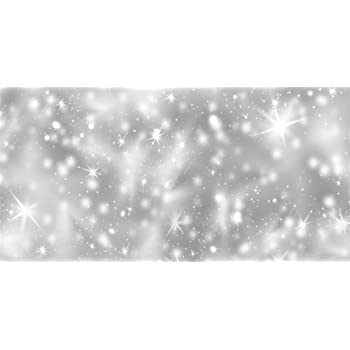 Amazon Com Aofoto 15x8ft Silver Glitter Stars Backdrop Blur Sparkle Stage Lights Snowflakes Winter Snowfall Background Wedding Birthday Party Photography Kids Girls Photo Shoot Props Vinyl Wallpaper Camera Photo