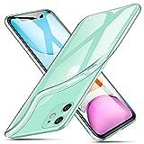 ivencase Cover per iPhone 11, Custodie Trasparente Crystal Ultra Thin Morbido Silicone TPU Bumper Antiurto Anti-Scratch Anti Scivolo Protettiva Case Cover per iPhone 11 6.1' 2019 Smartphone