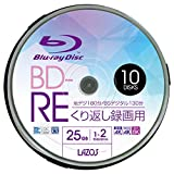Lazos L-BRE10P [BD-RE 2倍速 10枚組]