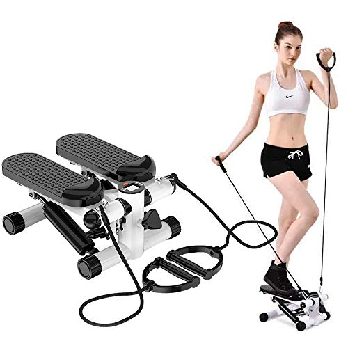 ZHCCCJBOY Fitness Stair Stepper Mini Stepper Step Fitness Machines Adjustable Stair...