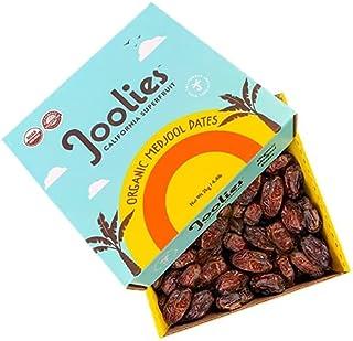 Joolies Medjool Dates (2 KG) – Organic Premium Grade Fresh Pitted Dates for Healthy Snacks, Cheese Platters, Baking, Cooki...