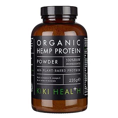 KIKI Health Organic Hemp Protein Powder, 235 g