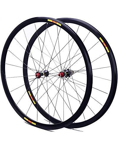 WXX 700C Bicicleta de Carretera Juego de Ruedas Ultra-Light Rines de Aluminio rodamiento Sellado 8-11 Velocidad de liberación rápida