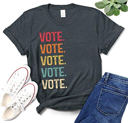 Election Shirt for Women or Men Retro Voting Right T-Shirt
