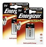 Energizer Original Batterie Ultra Plus E-Block (9 Volt, 2X
